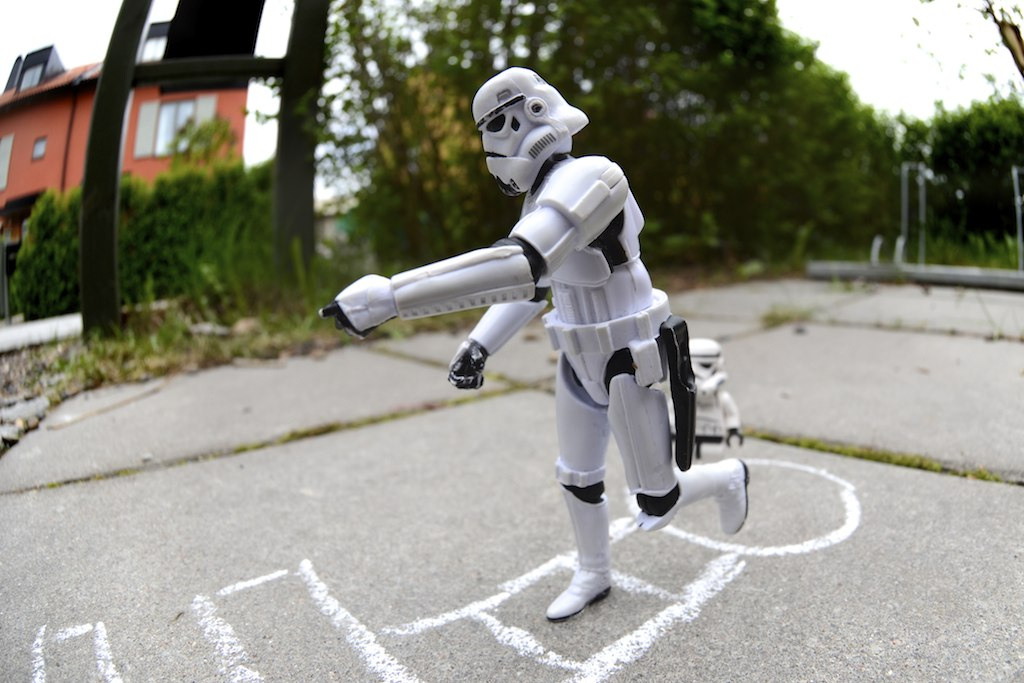 This is the way to find the droids