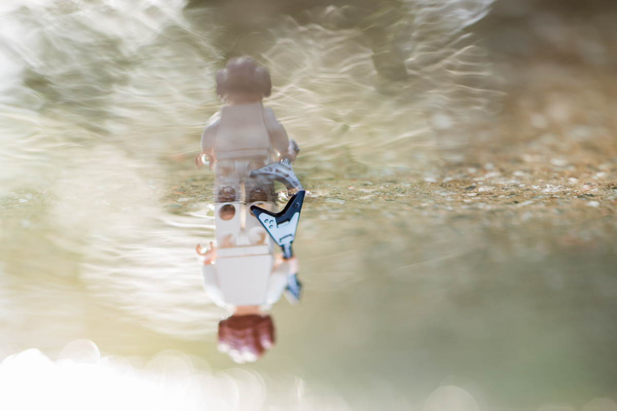 after the hard rain – a reflection of a toy 24/52