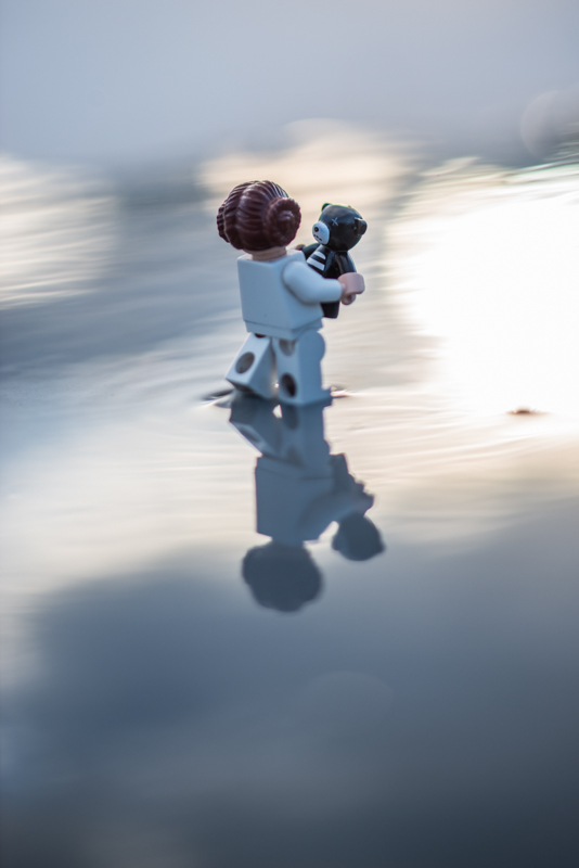 Walking on clouds – a reflection of a toy 25/52
