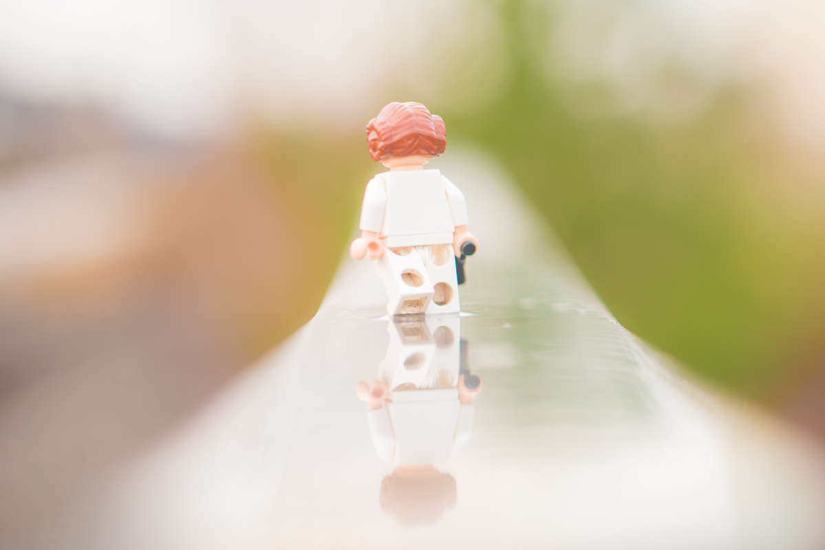 Towards new adventures – a reflection of a toy 52/52